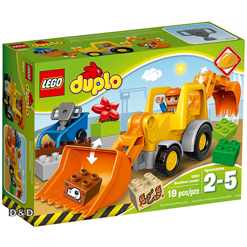 樂高積木LEGO《 LT10811 》Duplo 得寶幼兒系列 - 挖掘裝載機