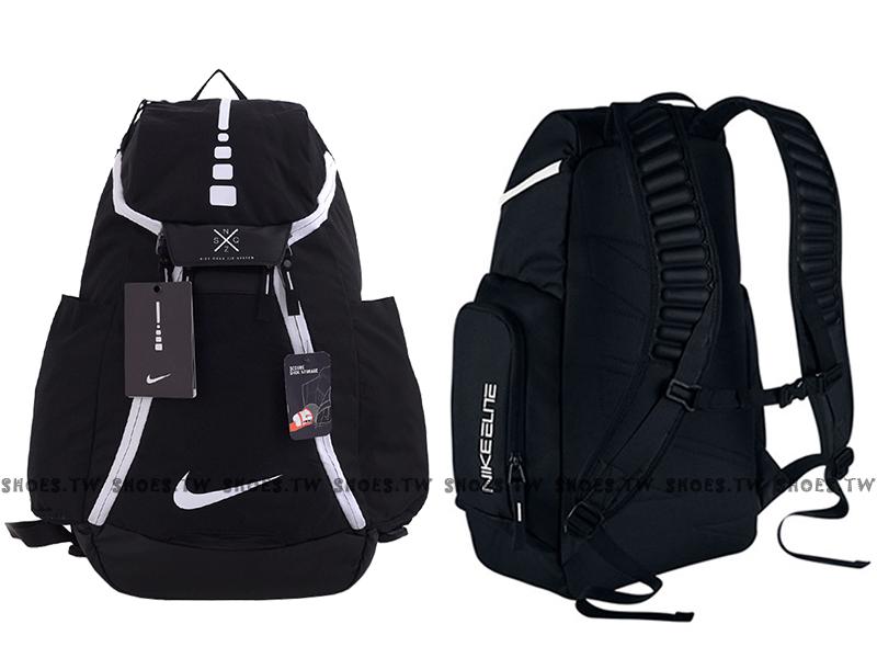 Shoestw【BA5259010】NIKE HOOPS ELITE MAX AIR TEAM 黑白 反光 運動後背包