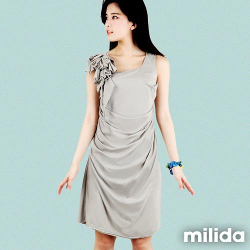 【Milida,全店七折免運】-早春商品-高雅款-氣質小禮服洋裝