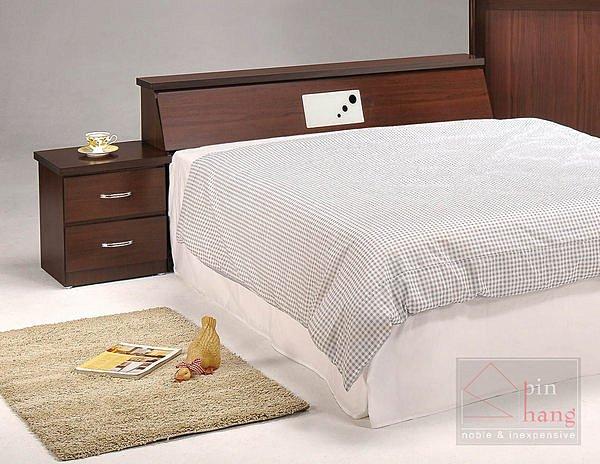 【尚品傢俱】GF-C05 貝拉胡桃3.5尺床頭箱床前箱~另售5尺、6尺~另有白橡色
