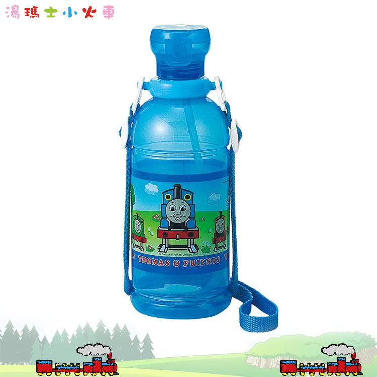 大田倉 日本進口正版 湯瑪士小火車 Thomas 塑膠水壺 寶特瓶 隨手杯 冷水壺冷飲壺 水瓶 400ml 061349