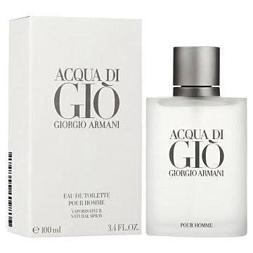 香水1986☆Giorgio Armani Acqua di Gio 亞曼尼寄情水男性淡香水 100ml