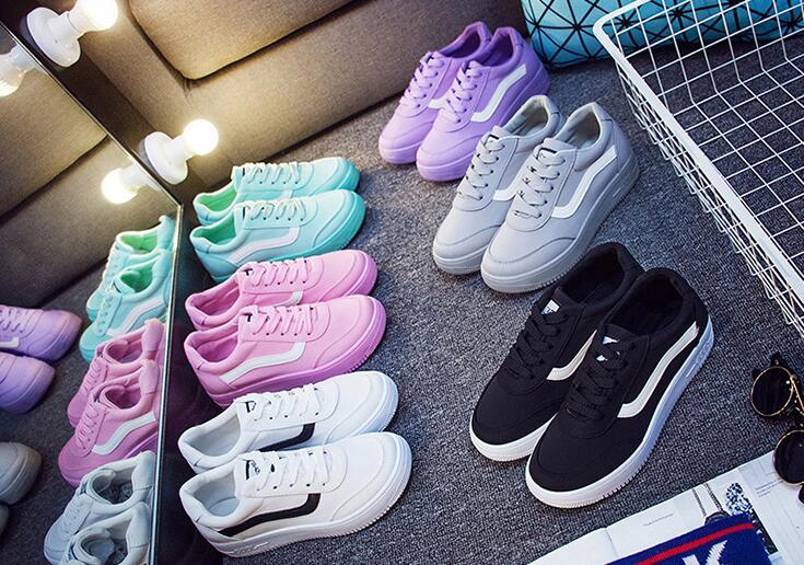 小白鞋厚底帆布鞋旅遊運動鞋板鞋