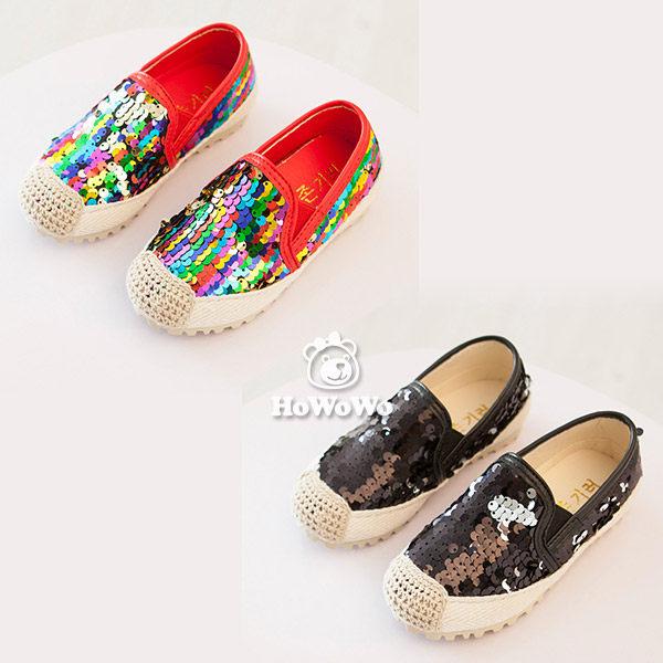 寶寶鞋 炫彩亮片學步鞋/中童鞋 公主鞋 (15.5-18cm) FK822