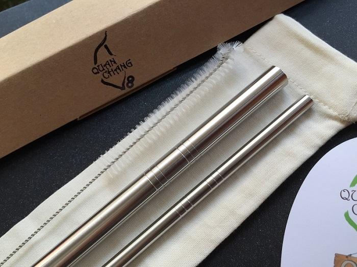【QC館】日本鋼材-食品醫療級304-不鏽鋼吸管/環保吸管-特惠組(C(細)直Q(粗)直系列)