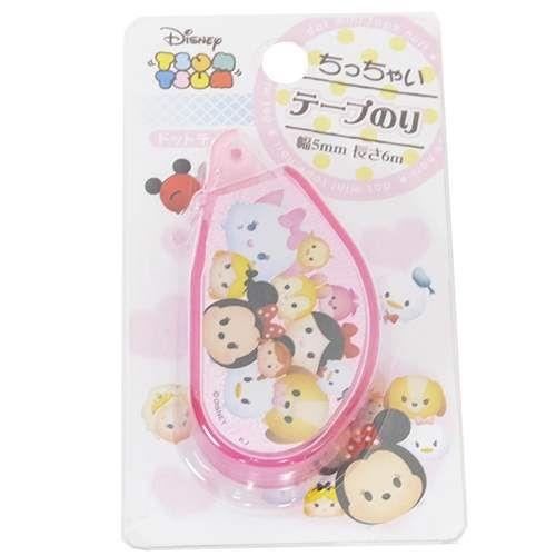 『日本代購品』迪士尼 Tsum Tsum 攜帶型雙面膠帶