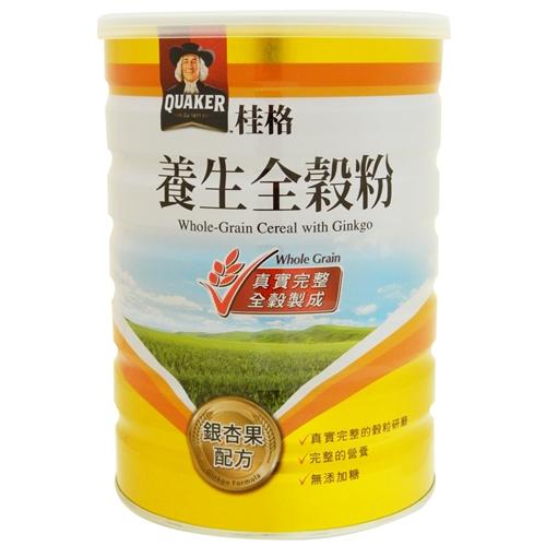 桂格養生全穀粉-銀杏果(奶素) 600g【合康連鎖藥局】