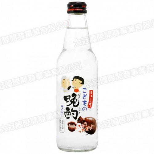 [期間限定] 晚酌碳酸飲料-小朋友日本酒風味 340ml
