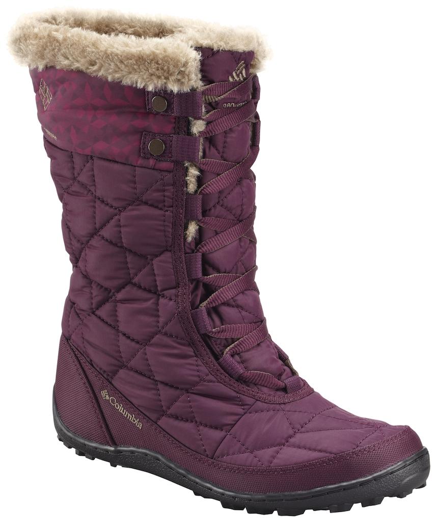 《台南悠活運動家》Columbia 美國 女輕量防水健走靴 紫紅 16260RD