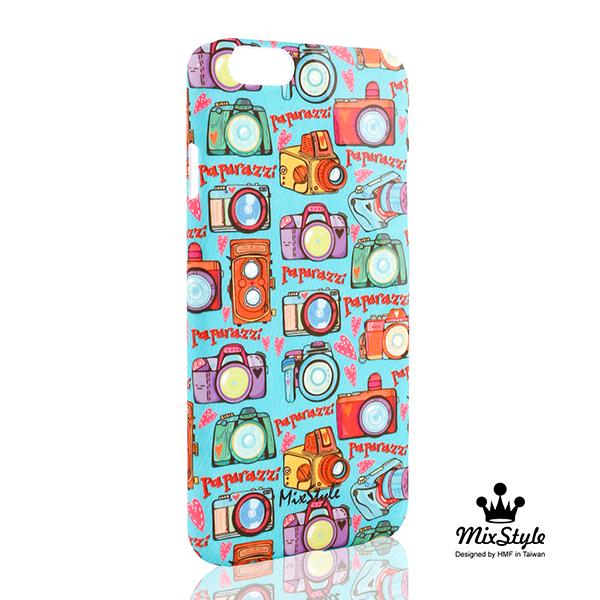 【限量19折】IPhone6 (4.7吋) 相機旅行去印花手機殼☆MarushaBelle設計款☆【II025_I6】