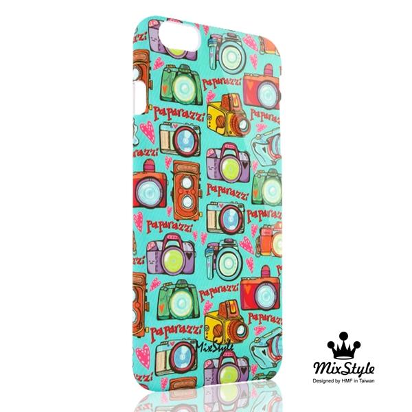 【限量19折】iphone 6 手機殼 PLUS 5.5吋手機殼 相機旅行去印花系列☆MarushaBelle設計款☆【II025_I6P】