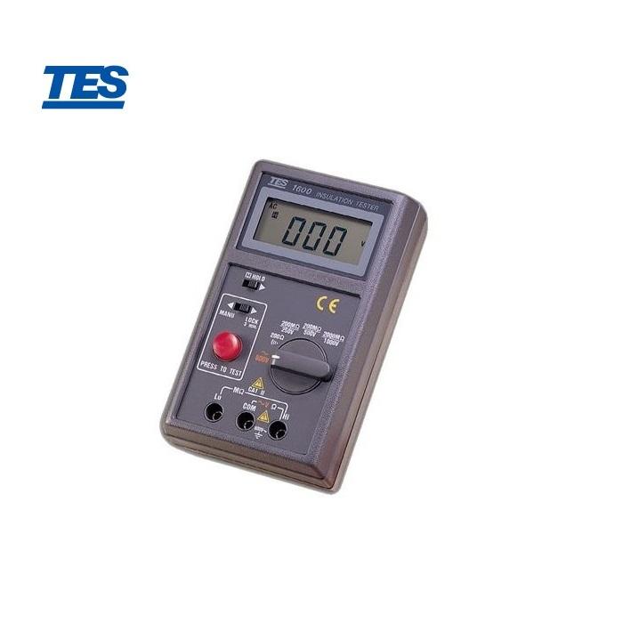 泰仕 TES-1600 (高阻計)數位式絕緣測試器