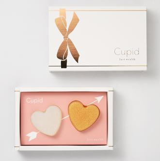 Cupid Gift Set 邱比特蝸牛液手工美容皂愛心小禮盒(白金)組 30g x 2