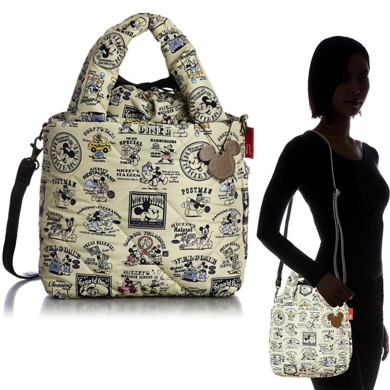 ROOTOTE 迪士尼米奇樣式 空氣包 側背包 手提包 束口包 日本帶回