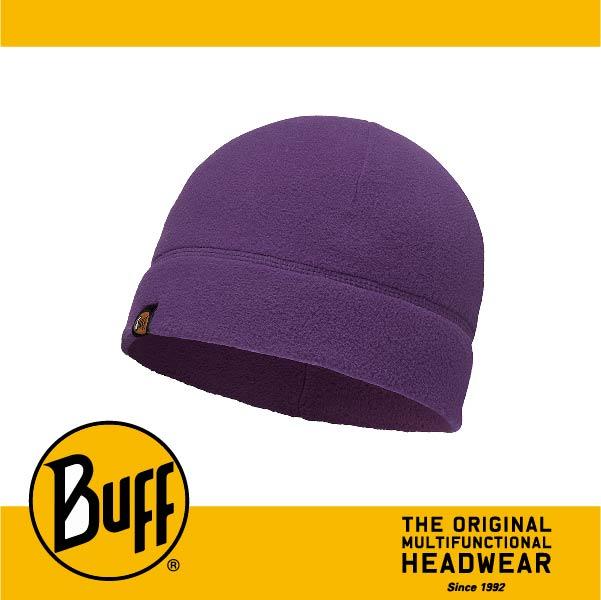BUFF 西班牙魔術頭巾 POLAR保暖系列 保暖帽 [素面紫] BF110929-541-10