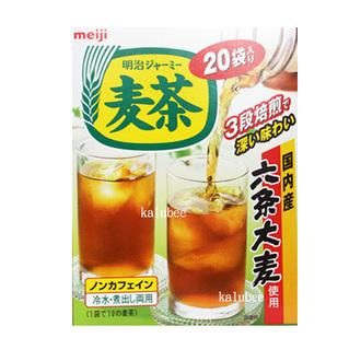 明治盒裝麥茶200g