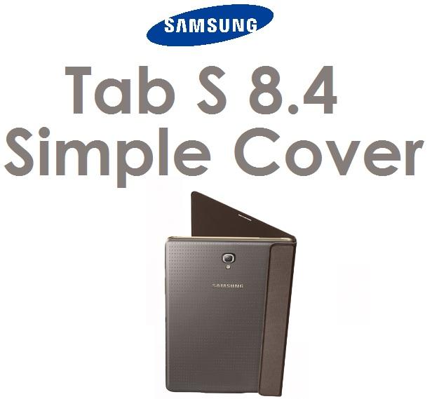 【原廠吊卡盒裝】三星 Samsung Tab S 8.4 吋平板電腦原廠簡易翻書套 tabs 簡易皮套