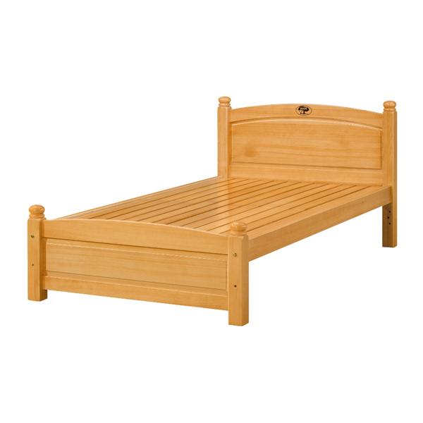 【IS空間美學】安琪3.5尺床單人床(實木床板 / 不含床墊) 2013-B-413-2