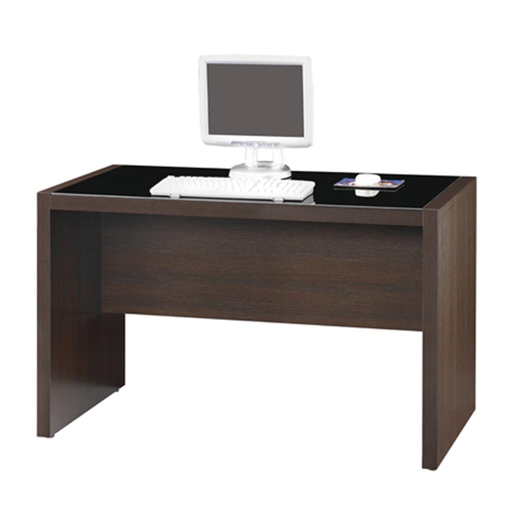 Albbrt胡桃木色4尺電腦書桌-& DIY產品