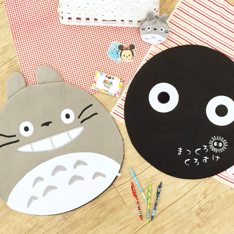 PGS7 日本卡通系列商品 - 龍貓 Totoro 系列 造型 地墊 腳踏墊 吉卜力 宮崎駿 煤炭球 小灰塵 小黑炭