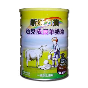 新愛力寶幼兒成長羊奶粉【900公克裝】*1罐《買五送一》