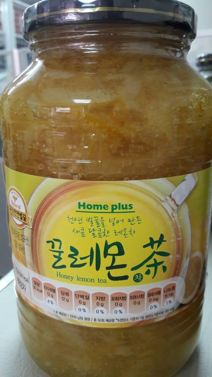 【韓新館】 꽃샘HOME PLUS 花泉 蜂蜜檸檬茶 (缺貨中)