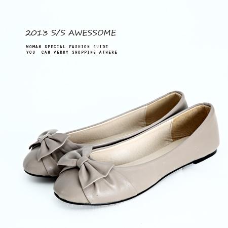 LINAGI里奈子精品【K188-6225】韓國直送 時尚流行款蝴蝶結舒適百搭平底鞋