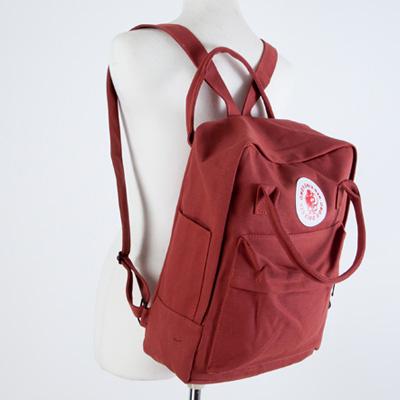 LINAGI里奈子精品【H746-22-65】簡單素雅素面前大拉鍊袋側袋內筆電夾層可放A4帆布後背包