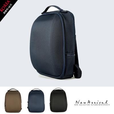 LINAGI里奈子精品【K001-19-58】韓國品牌代購 時尚典雅素面仿行李感多夾層可放A4/筆電實用後背包