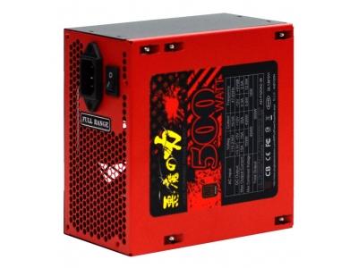 【迪特軍3C】YAMA 惡魔之力 500W 80+銅牌 CPU 電源供應器 SATA×5 2大1小