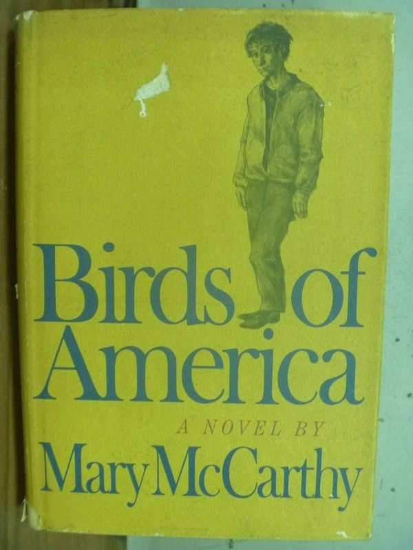 【書寶二手書T5/原文小說_HKW】Birds of america_Mary McCarthy