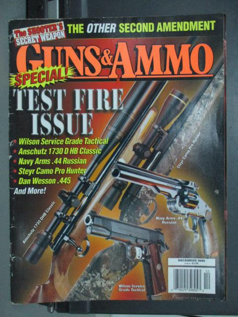 【書寶二手書T1/雜誌期刊_QGH】Guns ammo-Test fire issue等
