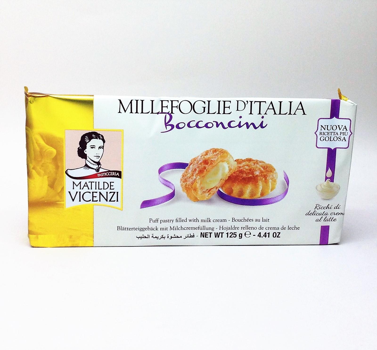 義大利維西尼奶油夾心酥餅--125g