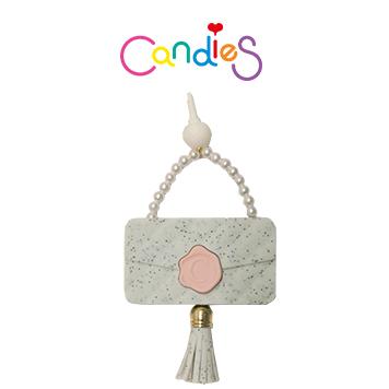 【Candies】流蘇晚宴包耳機塞(綠) - 各款手機類型皆適用!!