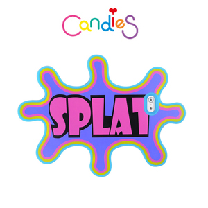 【Candies】Splat-Coloured Paints(紫)手機殼-IPhone6  4.7inch