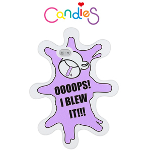 【Candies】OOOOPS I BLEW IT(紫)手機殼-IPhone6  4.7inch