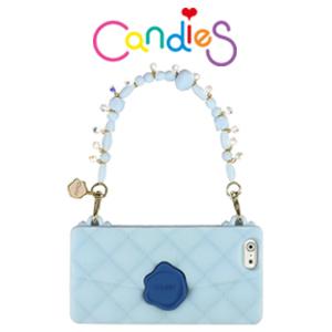 【Candies】施華洛世奇經典晚宴包(湖水藍)-IPhone6 4.7 inch 華麗經典上市!!