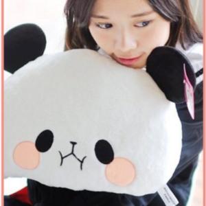 美麗大街【106010819】熊貓造型 抱枕 枕頭 靠枕