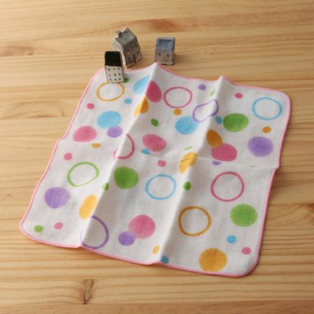 taoru 日本毛巾 和心傳_美得冒泡 25*25 cm (仕女手巾 紗布巾)