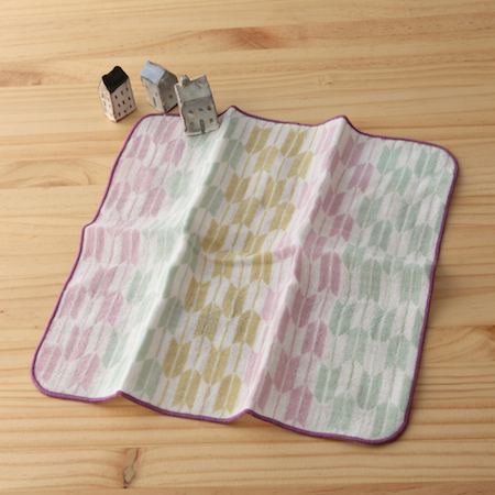 taoru 日本毛巾 和心傳_箭羽紋 25*25 cm (仕女手巾 紗布巾)