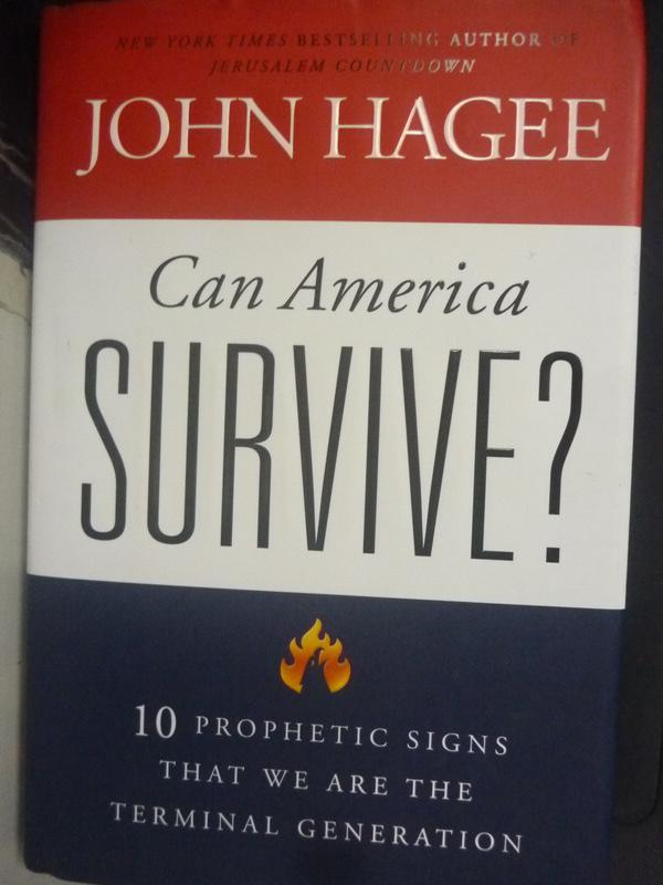 【書寶二手書T2/社會_ZJW】Can America Survive?: 10 Prophetic Signs Tha