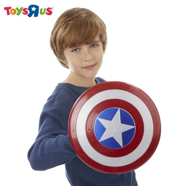 玩具反斗城 漫威美國隊長3電影磁性盾牌手套組