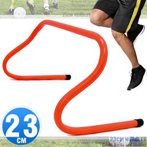 23CM速度跨欄訓練小欄架(一體成形高低梯.棒球障礙跳格欄.體適能步頻教材.籃球靈敏跳欄.足球敏捷田徑多功能架子.運動健身器材,推薦哪裡買ptt)D062-MK852B