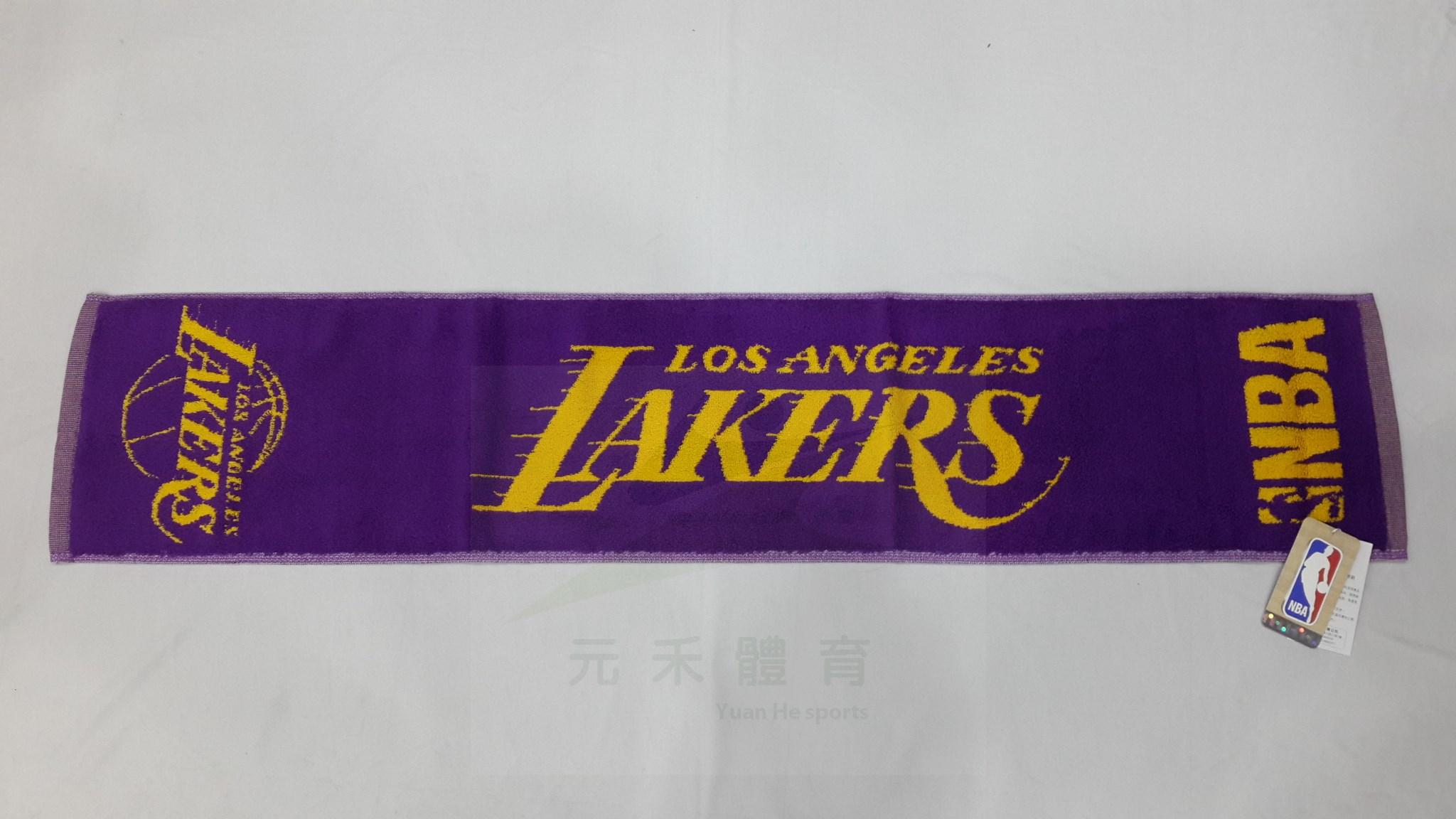 元禾〉NBA 湖人隊 緹花毛巾 8531501-025
