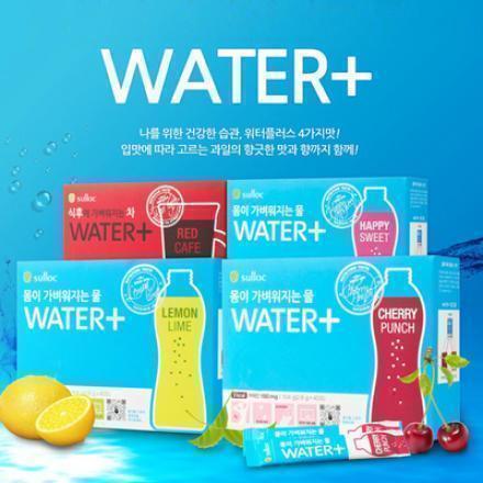 韓國 O'sulloc Water Plus 健體飲 (30入)