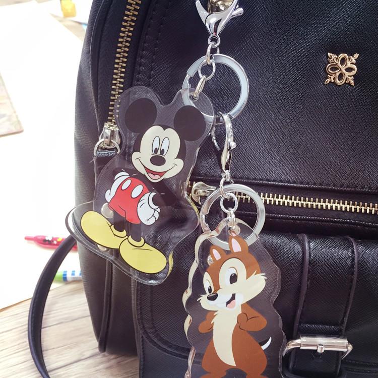 PGS7 (現貨+預購) 迪士尼系列商品 - 迪士尼 壓克力 吊飾 鑰匙圈 (大) 小吊飾 奇奇 史迪奇 米奇 米妮