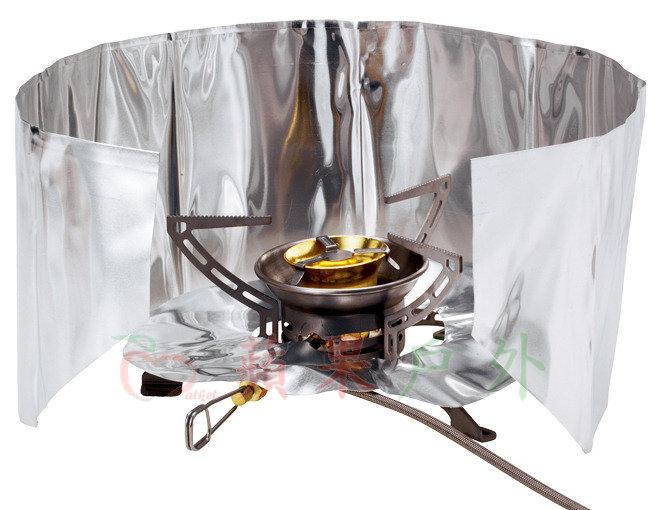 【【蘋果戶外】】Primus 721720 輕鋁擋風板(含熱反射板) 適用各式分離式爐具 88g