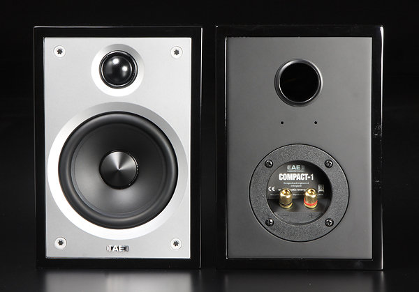 Acoustic Energy (AE) 英國 AE Compact 1 鋼烤 店面提供試聽