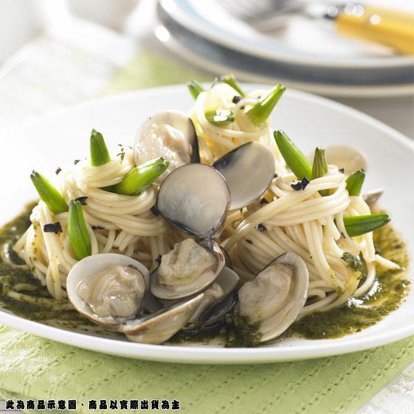 【金品】吉諾亞青醬蛤蜊麵(390g)