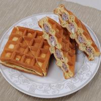 【中二廚】奶油紅豆鬆餅(蛋素、65g/片)